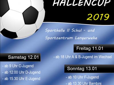 Sportsfreund Hallencup  vom 11. bis 13.01.2019